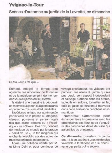 OF Scènes d'automne 2012